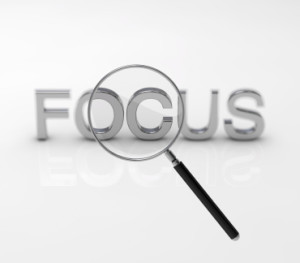 Staying Focused on the task you are trying to accomplish