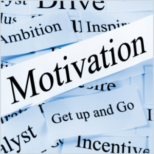 get motivated Motivation. It is not always easy